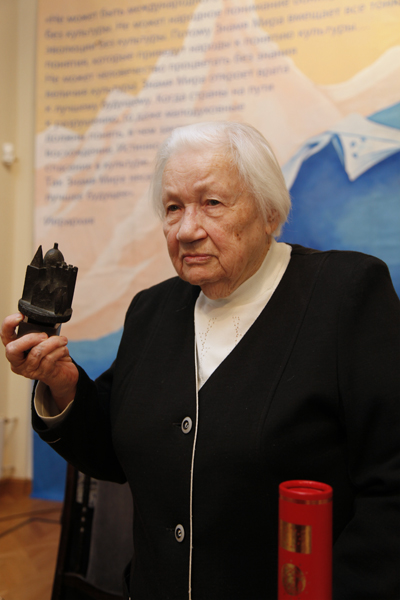 Lyudmila V. Shaposhnikova, Winner of the award from the pan-European Federation for Cultural Heritage EUROPA NOSTRA, Director General of the Museum by name of Nicholas Roerich.