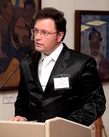Лауреат Международной Премии имени Е.И. Рерих В.Г. Соколов