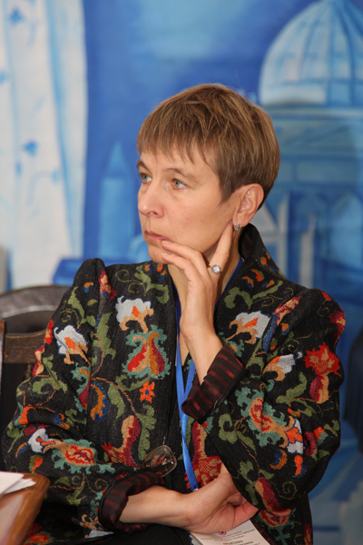 Dr. Galina B. Andreeva, Chief Executive of ICOM of Russia, member of Presidium of the International Committee for Museums and Collections of Fine Arts (ICFA)
