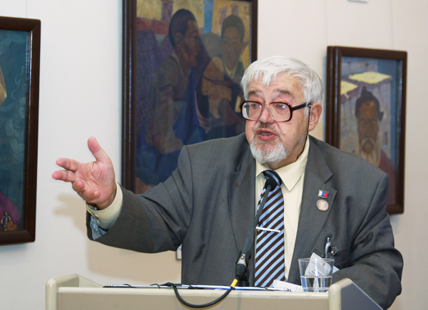 Speech of Pavel V. Florensky, Academician of the Russian Academy of Natural Sciences, professor of Gubkin Russian State University of Oil and Gas