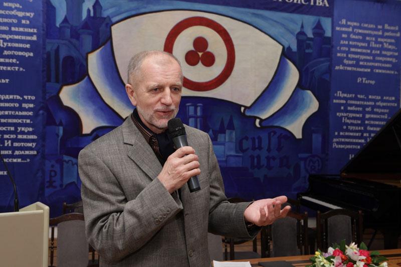 Большаков Владимир Ильич – профессор Российской академии живописи, ваяния и зодчества им. И.Глазунова
