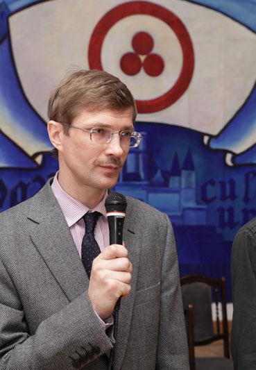 Журавихин Павел Михайлович - ответственный секретарь Международного Центра Рерихов