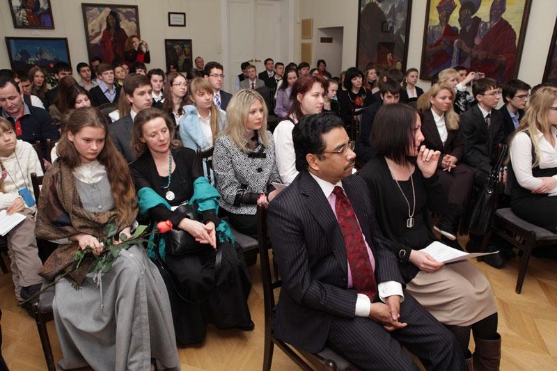 Выступление стипендиата Благотворительного Фонда имени Е.И.Рерих, лауреата российских и международных конкурсов Луки Окросцваридзе