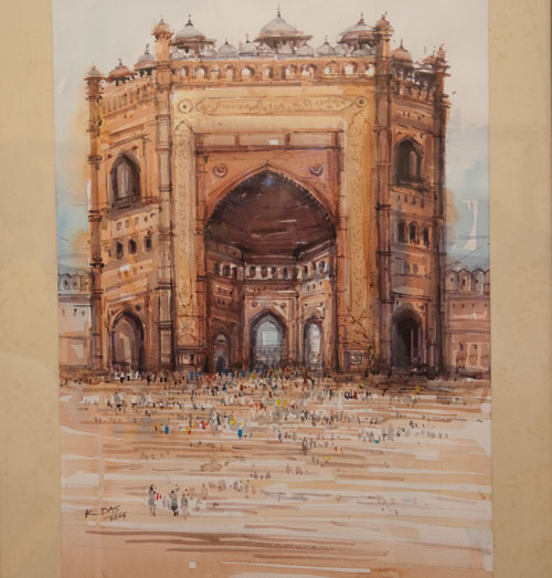 Exhibition of watercolours «Architectural Monuments of India»