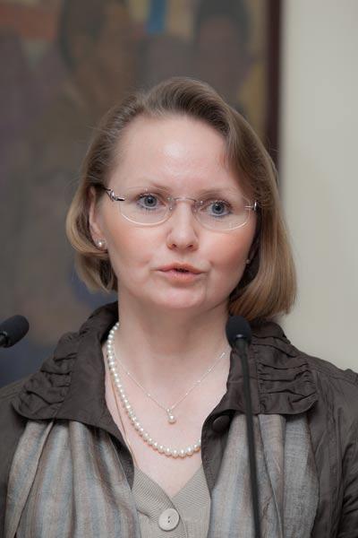 Ширшова Марина Николаевна – помощник Директора Информационного Центра ООН в Москве