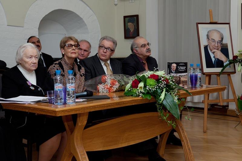 Открытие вечера памяти Ю.М. Воронцова