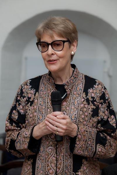 Грачева Ольга Юльевна – дочь Ю.М. Воронцова
