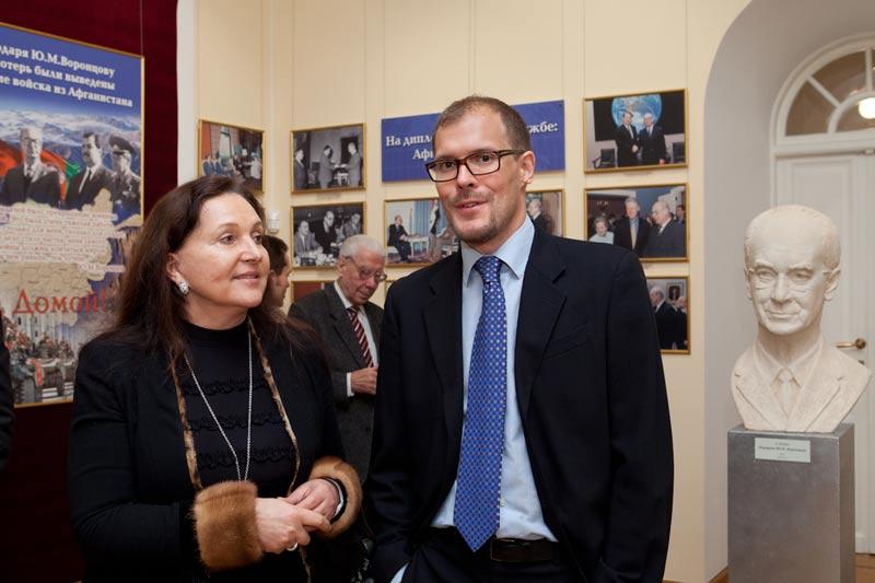 Открытие фотовыставки «Защитник Мира и Культуры»