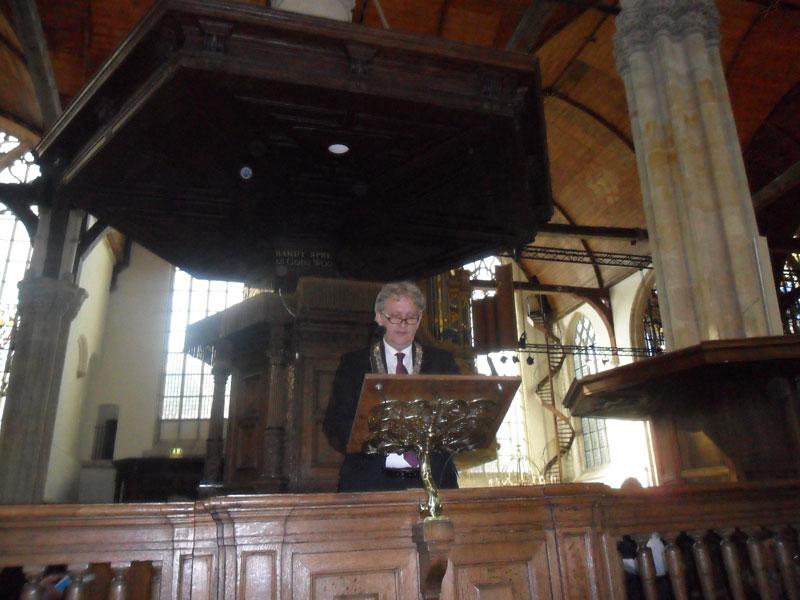 Приветственное слово мэра Амстердама к участникам Конгресса Europa Nostra-2011