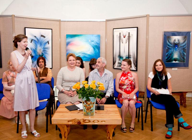 Открытие выставки Игоря и Светланы Анисифоровых «Любовь небесная»