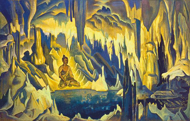 Н.К. Рерих. Будда Победитель. 1925