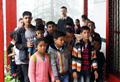 Программа «Заповедные места Н.К. Рериха» и «Встреча с Алтаем» в детской Академии искусств имени Е.И. Рерих Международного Мемориального Треста Рерихов, Наггар, Индия