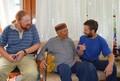 Встреча сотрудников МЦР с индийским ученым-востоковедом Церингом Дордже в Международном Мемориальном Тресте Рерихов