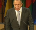 Министр иностранных дел РФ Сергей Лавров о Пакте Рериха