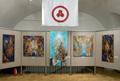 Открытие выставки В.В. Скобеева в общественном Музее имени Н.К. Рериха