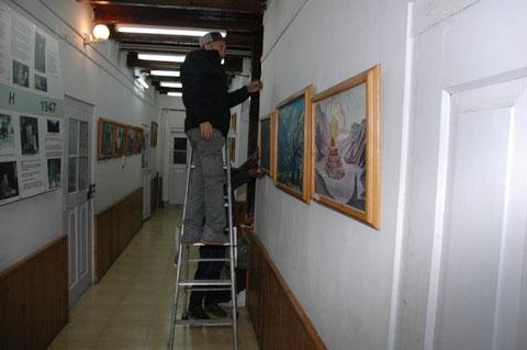 Экспозиционные работы в Урусвати