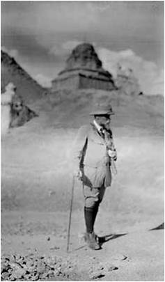Н. К. Рерих в Ладакхе. 1925. Фото семьи Рерихов