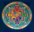 Построение в Музее имени Н.К.Рериха Мандалы Будды безграничного сострадания Авалокитешвары