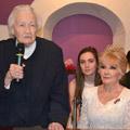 Награждение Алисии Родригес медалью «Николай Рерих»