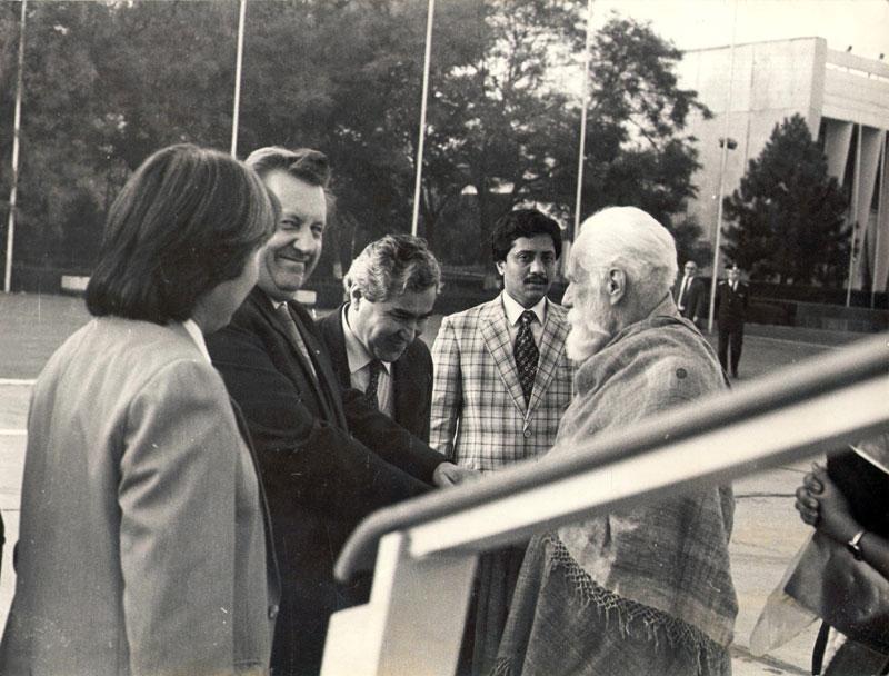 Святослав Николаевич Рерих в Ташкенте 1989 г.