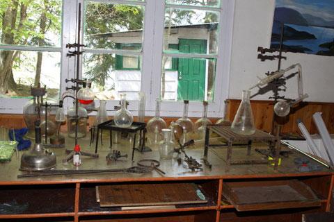 Лабораторное оборудование Института Урусвати