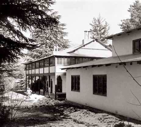 Институт «Урусвати». Наггар, Кулу. 1930-е гг.
