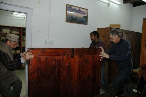 Переезд в новый зал научной мемориальной библиотеки Урусвати