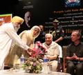 Открытие выставки в Чандигархе