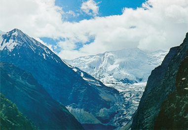 У перевала Ротанг. Фотография Л.В. Шапошниковой