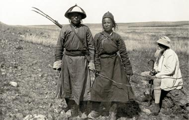 Н.К. Рерих на маршруте экспедиции 1934-1935 годов